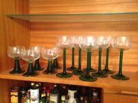 70's Wine Glasses
