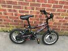 Kid bicycle bike black spider professional 14inch wheel