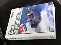 Force Outboard Shop Manual by Clymer