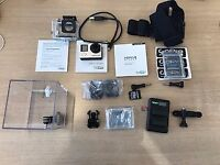 Go Pro Hero Four Silver (With Extras) - Used Great Condition