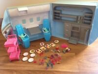 Barbie plane and boat playset