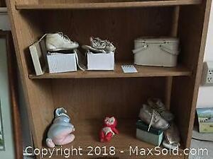 Vintage Shoes And Old Toys A