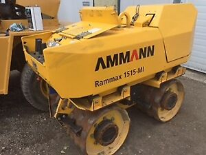 Rammax Trench Compactor