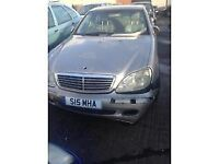 2005 MERCEDES BENZ S CLASS 320 - BREAKING FOR PARTS