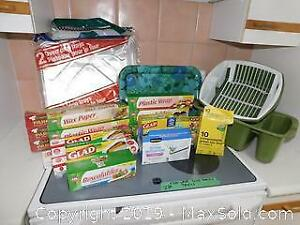 Food Wrap, Dish Rack And Trays