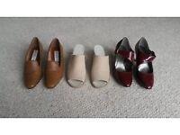 Brand new ladies size 4 shoe bundle