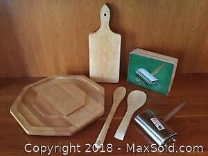 Wooden Serving Ware