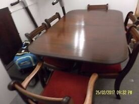 Victorian style antique Extendable table [without chairs]