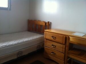 one bedroom in 4 bedroom student  house