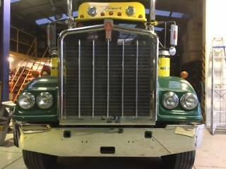 KENWORTH W MODEL NEW STAINLESS BUMPER