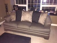 Couch Loveseat and Ottoman (3pc)