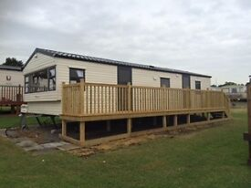 New 3 bedroom static holiday caravan on Fontygary Leisure Park - October dates available from £50pn