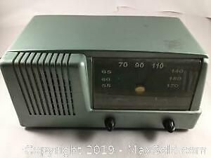 Working General Electric Radio