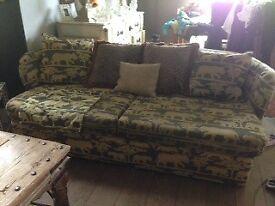 Andrew Martin Sofa and matching cushions