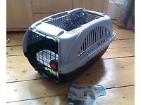 Ferplast Atlas Deluxe 20 Open Cat and Dog Carrier For Sale