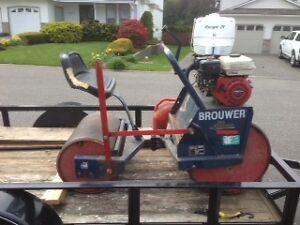 Riding lawn roller(it's lawn rolling season)