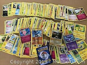 Huge lot of over 250 Pokemon cards