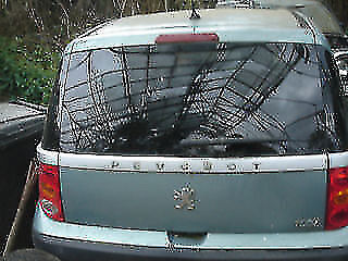 peugeot 1007 rear tailgate breaking for parts