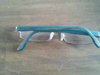 vallentino green framed glasses