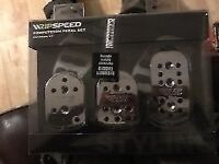 Ripspeed Competition Pedal Set Universal Fit