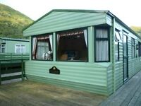 Static Caravan For Sale, Modern pitched roof, 2 Bedroomed, 6 Berth Willerby Westmorland Year 2003