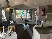 cheap double glazed and central heated caravan for sale