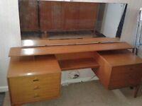 Vintage Pearwood Dressing Table