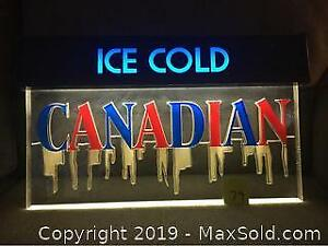 Molson Canadian Bar Sign -C