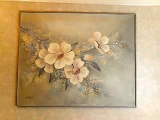Large decorative painting. Mosman Mosman Area Preview
