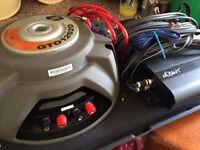 JBL CTO120 2D 300w RMS 1200w Peak speaker + Mutant MT1202R