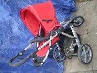 Britax Vigour Buggy/Pushchair 3 wheeler & car seat