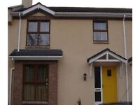 3 bed town house on outskirts of Enniskillen to rent