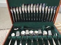 Amefa 58 piece canteen of cutlery
