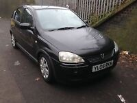 vauxhall corsa 2005 1.2 Petrol Black 5dr - Breaking For Spares