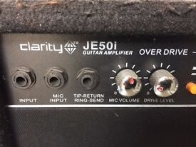 Clarity Guitar Amplifier Model JE501