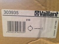 VAILLANT ADJUSTABLE FLUE SUPPORT CLIPS (PACK OF 3) Brand new still boxed.