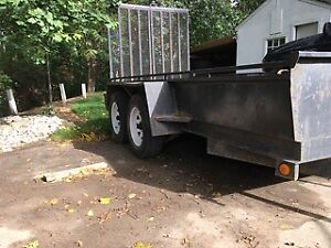 Tandem axle trailer - great for landscaping or equipment, quad