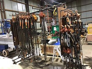 Come-A-Longs, Chain Falls, & Beam Clamps