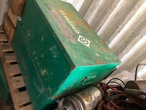 Greenlee Mod 1230 Welders Tool Box
