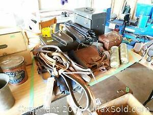 Antique Belts, Fire Extinguishers, and More A