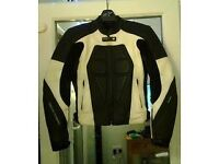 Frank Thomas ladies motorbike jacket. Size 10