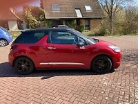 Citroen DS3 Convertible, 2013, Low Mileage, Manual, 1598 (cc), 3 doors