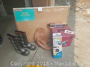 Boulet Western Boots, Bulletin Board and more