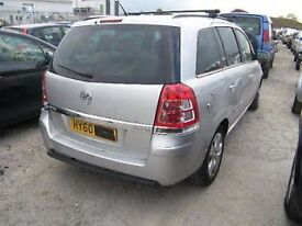 VAUXHALL ZAFIRA 2 DRIVERS REAR DOOR IN SILVER 2006 2007 208 2009 2010 USED