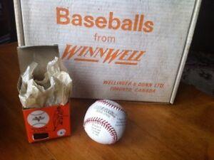 1 Dozen New WinnWell Official League No.66 Vintage Baseballs