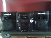 Bush Mini System with iPod Dock and 5 CD Trays