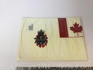 Vintage Canadian Forces Motorcade Pennant Flag