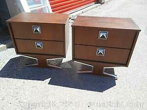 Mid Century Futuristic Side Tables Category B