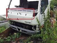 mitsubishi CANTER FRONT BUMPER breaking for parts