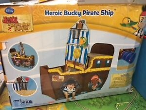 LIKE NEW- LIFE SIZE TOY TENT PIRATE SHIP